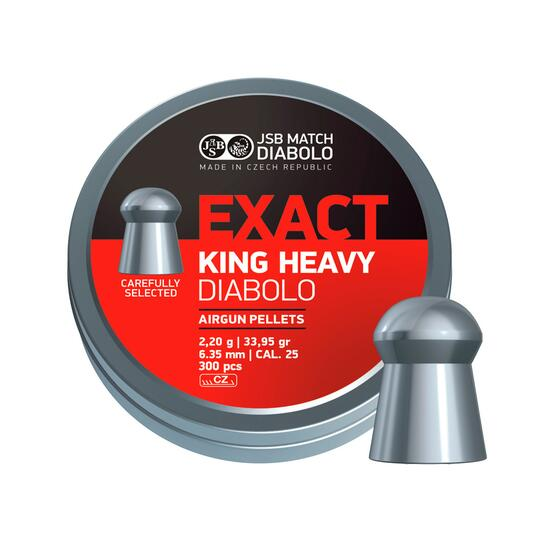 MUNITION COMETA EXACT KING HEAVY CAL. 6,35MM (150 ud)